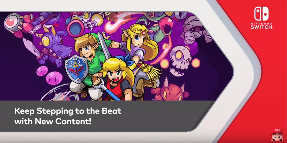 cadence of hyrule 3 dlc packs physical version release