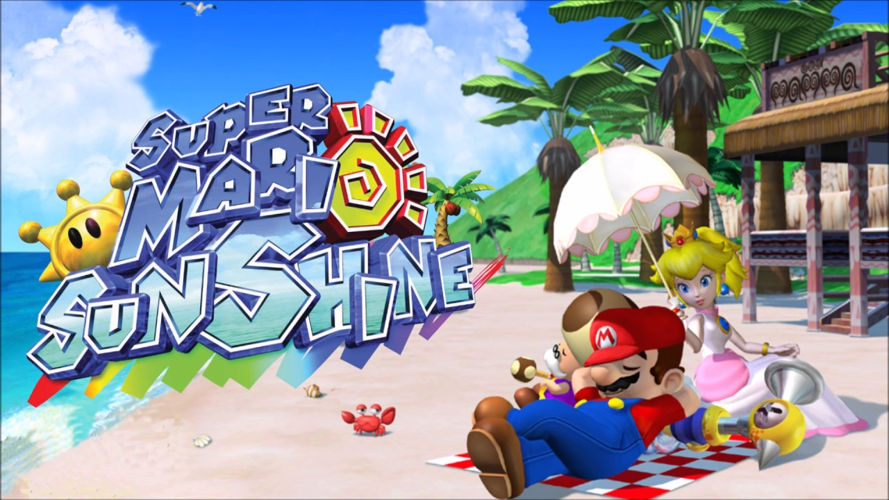 super mario sunshine nintendo switch remaster