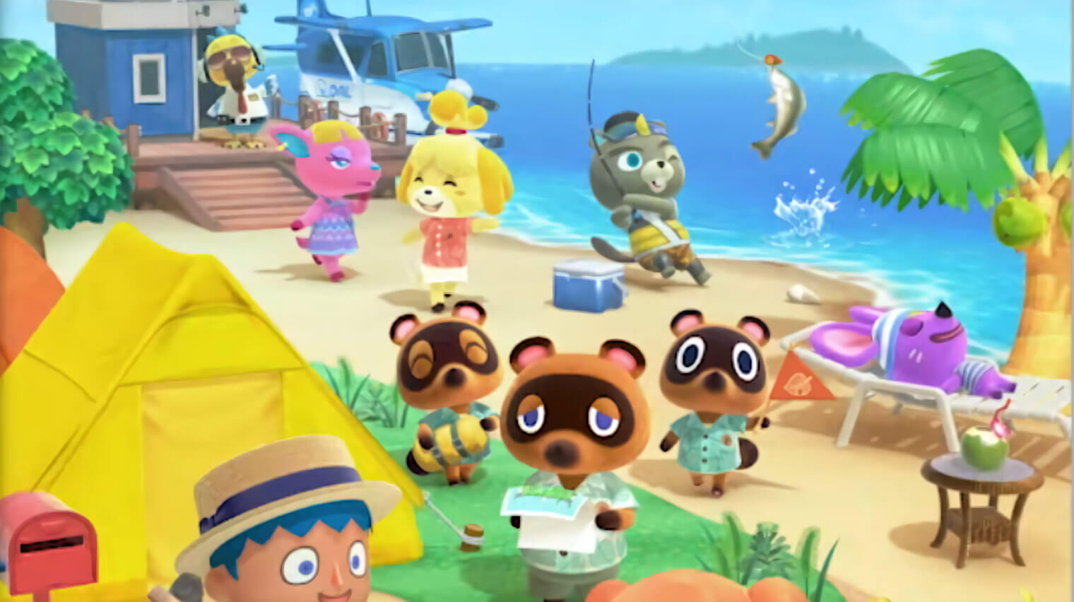 animal crossing new horizons datamine shows randomly receive art mail from villagers