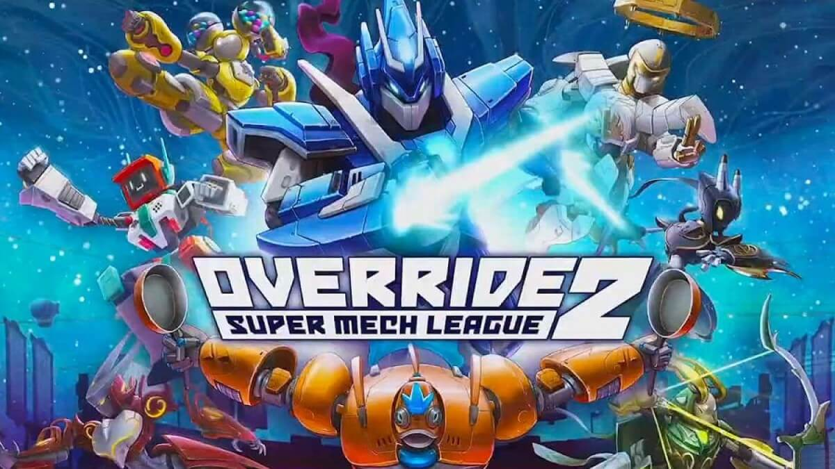 override 2 super mech league nitnendo switch trailer released