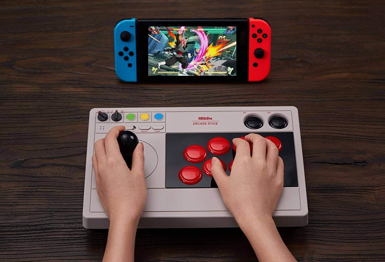 8bitdo arcade stick nintendo switch announced