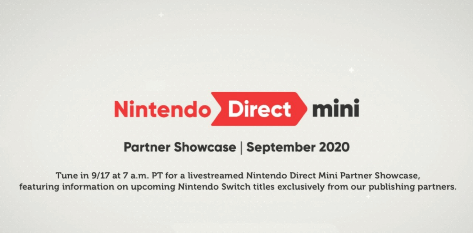nintendo direct mini partner showcase september 2020
