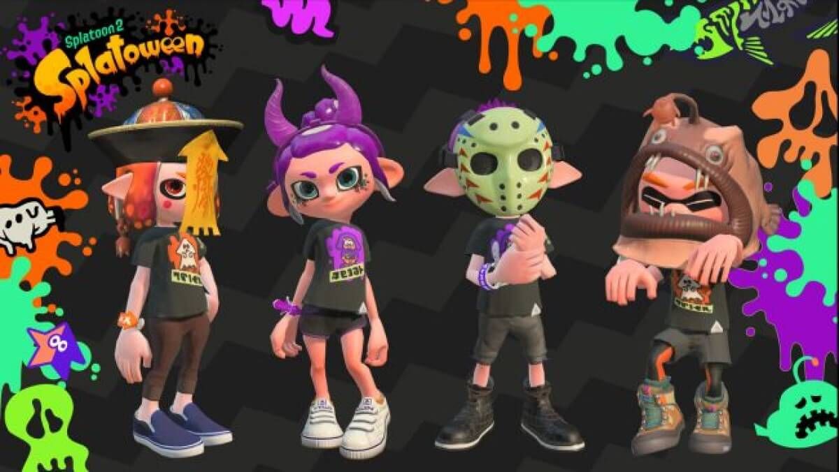 Splatoween Splatoon 2 halloween event announced