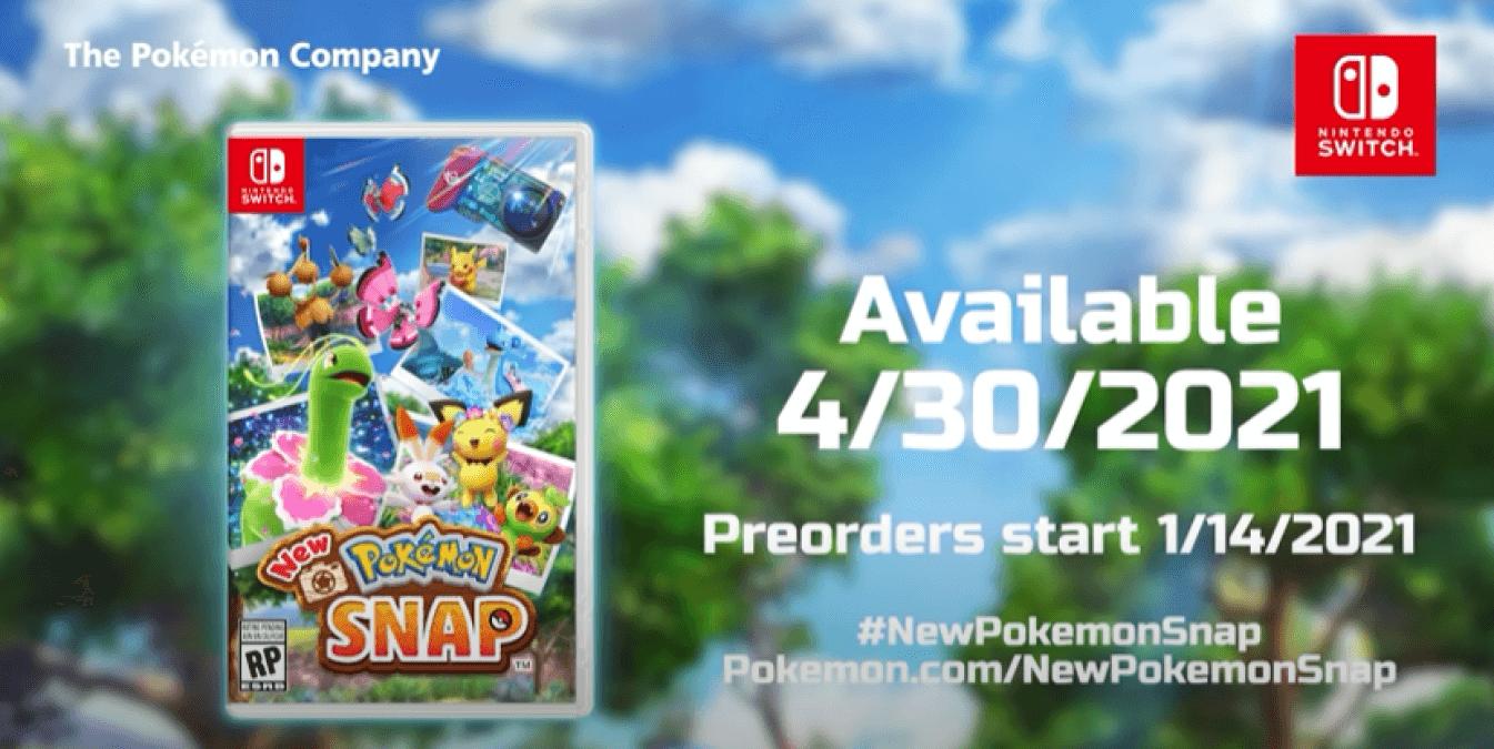 new pokemon snap nintendo switch release trailer