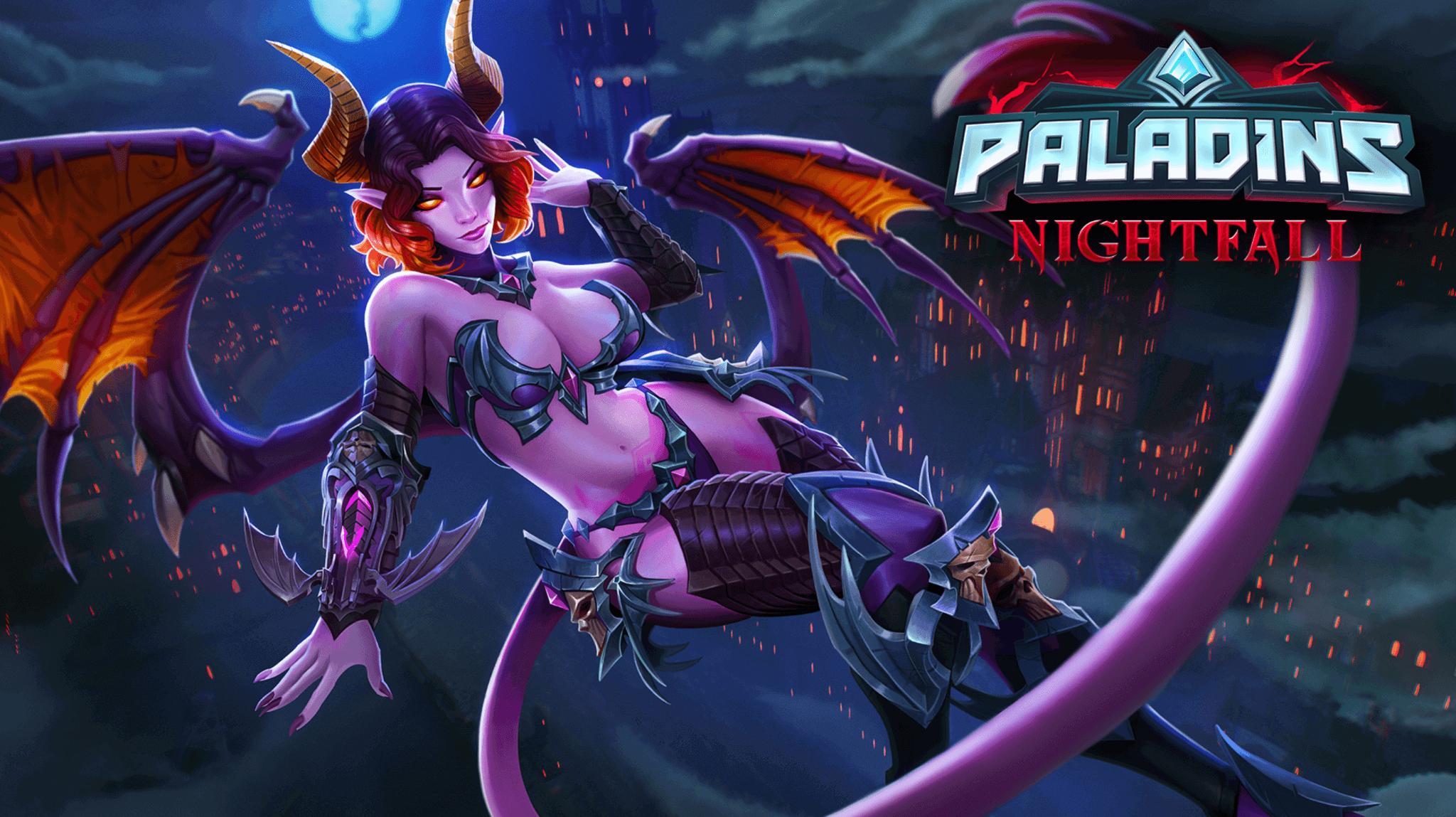 Saati Paladins champion available update nintendo switch