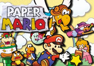 paper mario is now 20 years old history