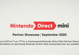 nintendo direct mini partner showcase september 2020